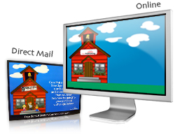 Direct Mail and Online